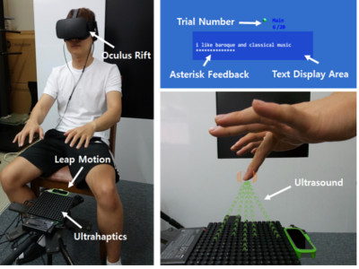 Eyes-Free Typing in VR
